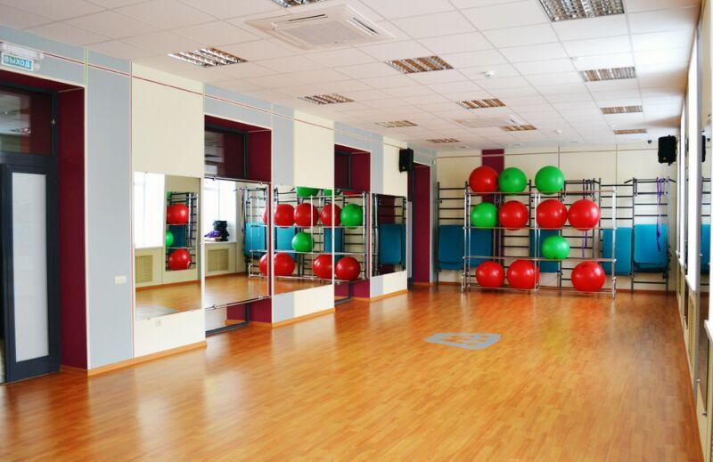 Дизайн фитнес студии